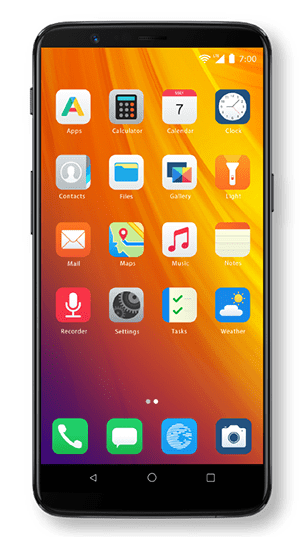 OnePlus 5T site photos_OnePlus 5T Blisslauncher-min